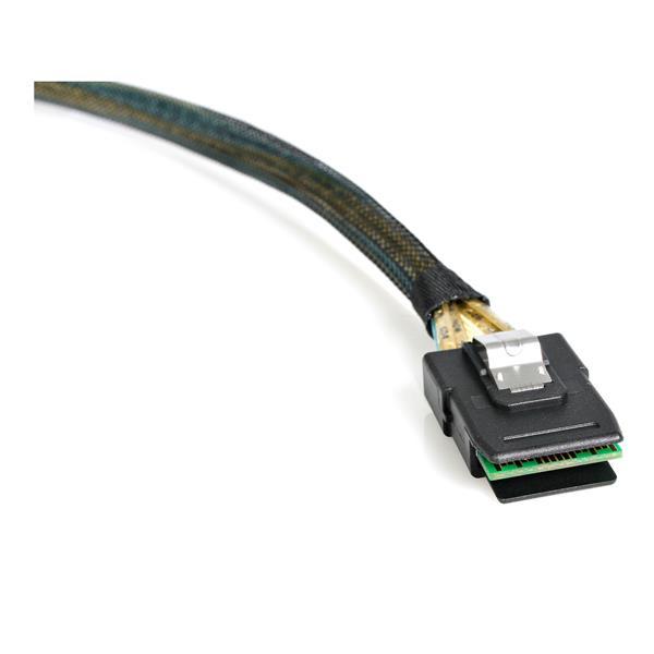 StarTech.com Cavo SAS SCSI seriale collegato 100 cm - Da 8087 a SFF-8087