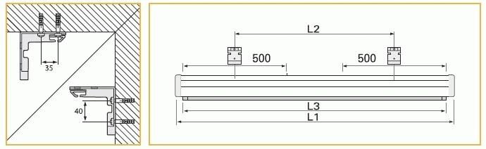 """Projecta ProCinema 102x180 Matte White S 82"""" 16:9 schermo per proiettore"""