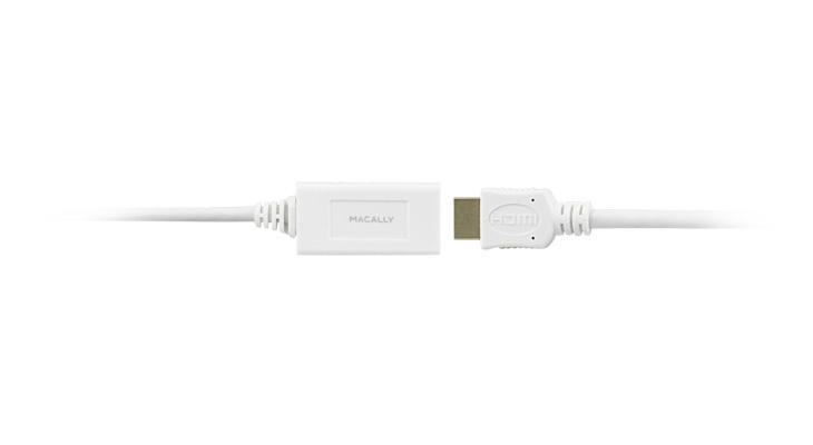 Macally 6ft. Mini Display - HDMI 1.8288m mini DisplayPort HDMI Bianco
