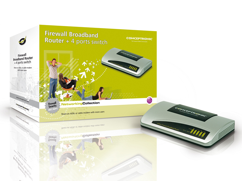 Conceptronic Firewall Broadband Router