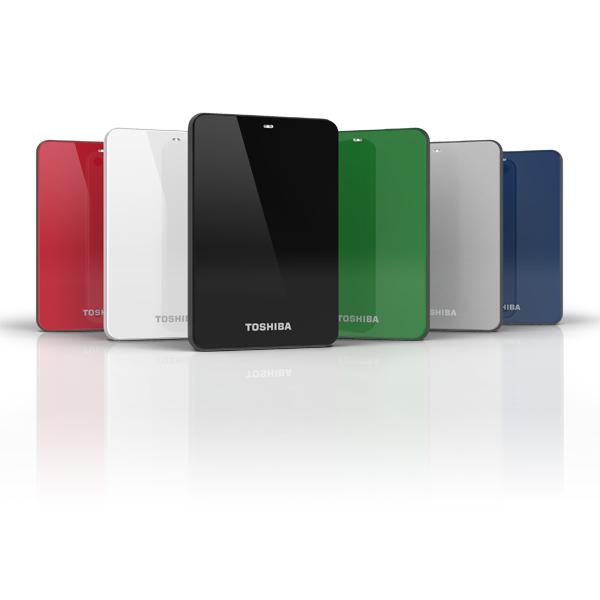 Toshiba 500GB Canvio 3.0 500GB Bianco disco rigido esterno