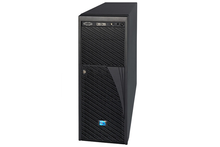 Intel P4308GP2MHGC LGA 1356 (Socket B2) 4U Nero sistema barebone per server