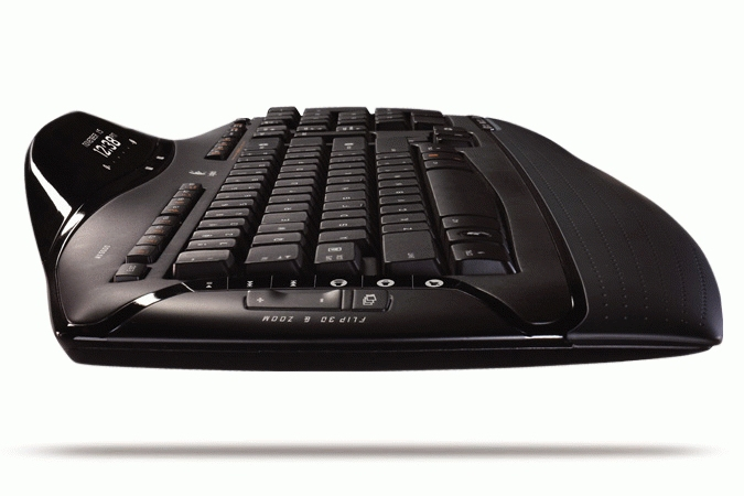 Logitech Cordless Desktop MX 5500 Revolution Bluetooth Nero tastiera