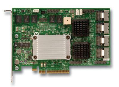 Intel SRCSATAWB PCI Express x4 3Gbit/s controller RAID