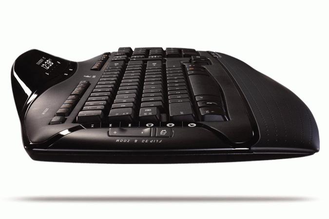 Logitech Cordless Desktop MX 5500 Revolution RF Wireless Nero tastiera