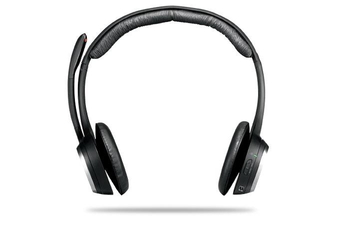 Logitech ClearChat PC Wireless Stereofonico Nero cuffia e auricolare