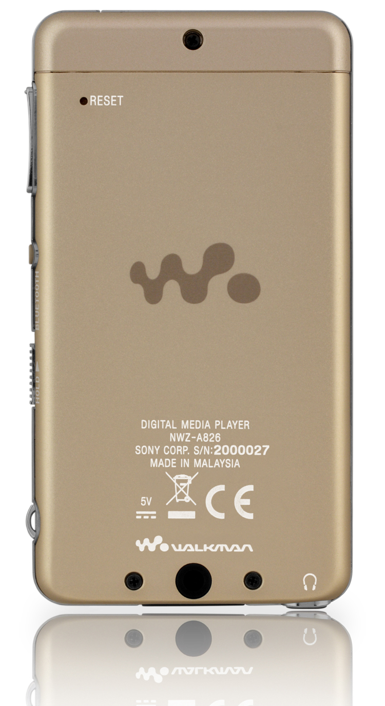 Sony NWZ-A826 Champagne 4GB Marrone