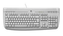 Logitech Internet 350 Keyboard, CZ PS/2 Bianco tastiera