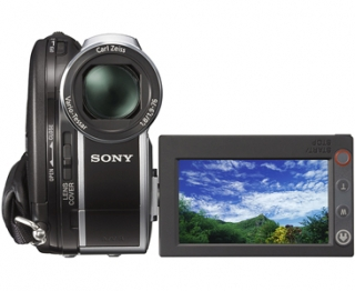 Sony DCR-DVD110E 0.8MP Nero, Argento videocamera