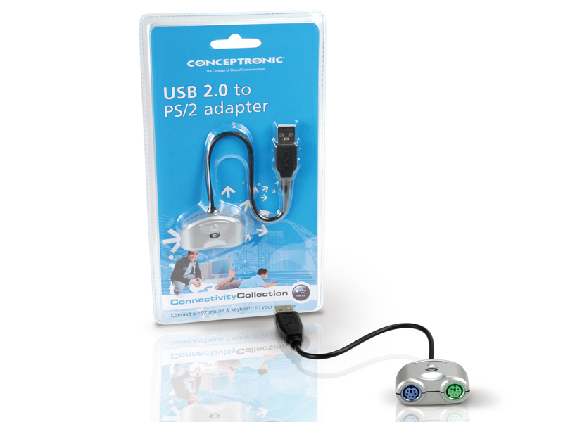 Conceptronic USB 2.0 to PS/2 adapter