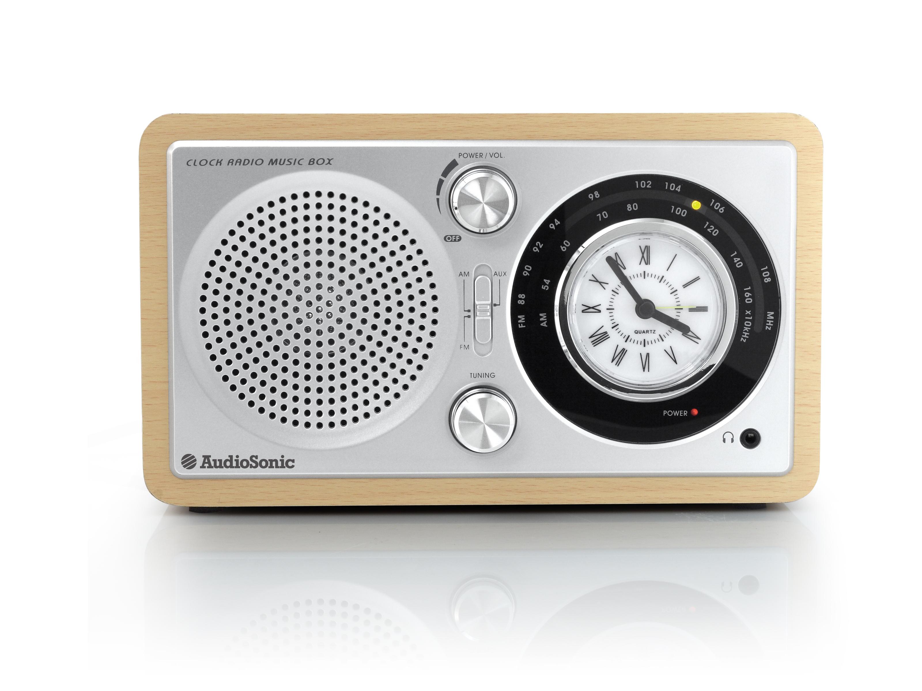 AudioSonic RD-1541 Personale Analogico Argento radio