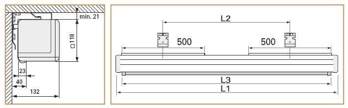 """Projecta Elpro Electrol 183x240 Matte White M 120"""" 4:3 schermo per proiettore"""