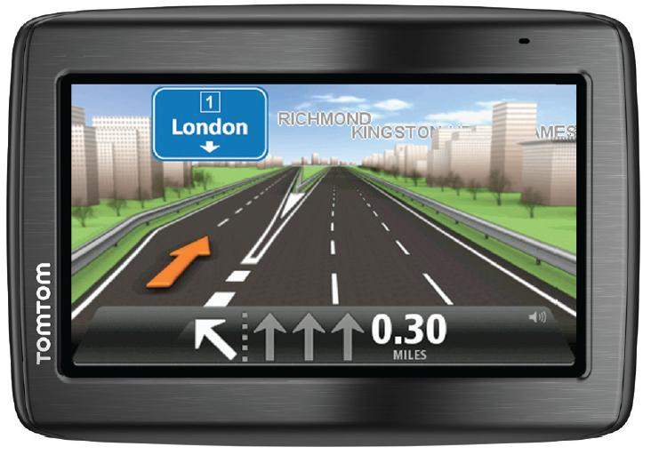 "TomTom VIA Business EU 45 Fisso 4.3"" Touch screen 146g Nero navigatore"