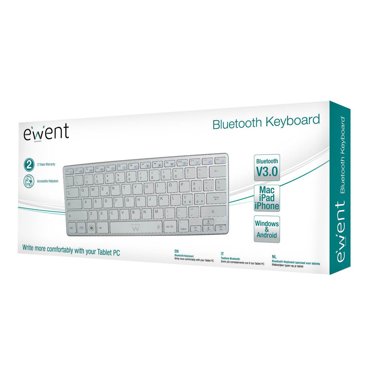 Scheda tecnica del prodotto Ewent EW3143 tastiera per