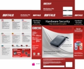 Buffalo MiniStationT Pro, 320GB 320GB Blu disco rigido esterno
