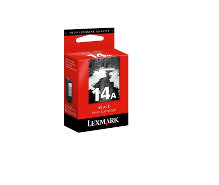 Lexmark #14A Nero cartuccia d