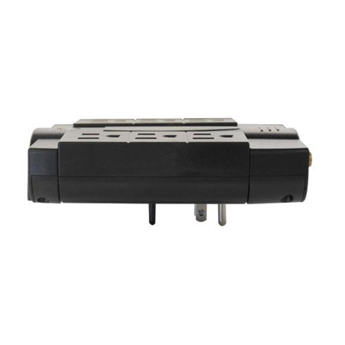 Tripp Lite HTSWIVEL6 6AC outlet(s) 120V 1.8m Nero protezione da sovraccarico