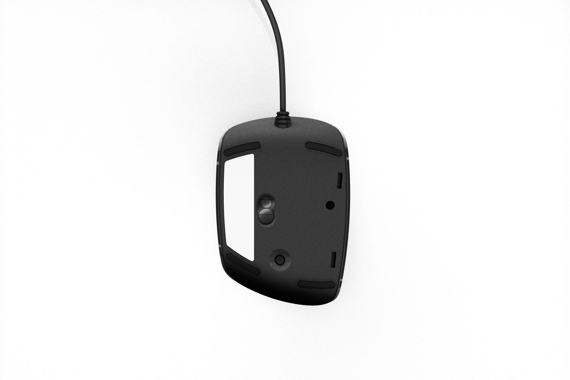 Penclic D2 USB 2400DPI Nero mouse
