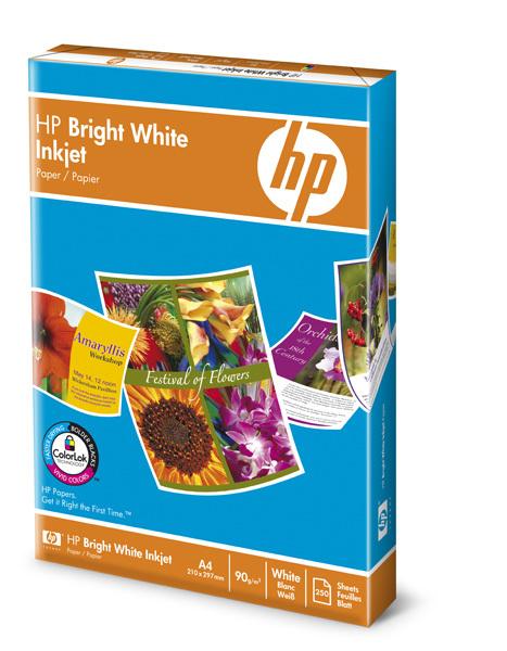 HP c5977b Bright White Paper carta inkjet