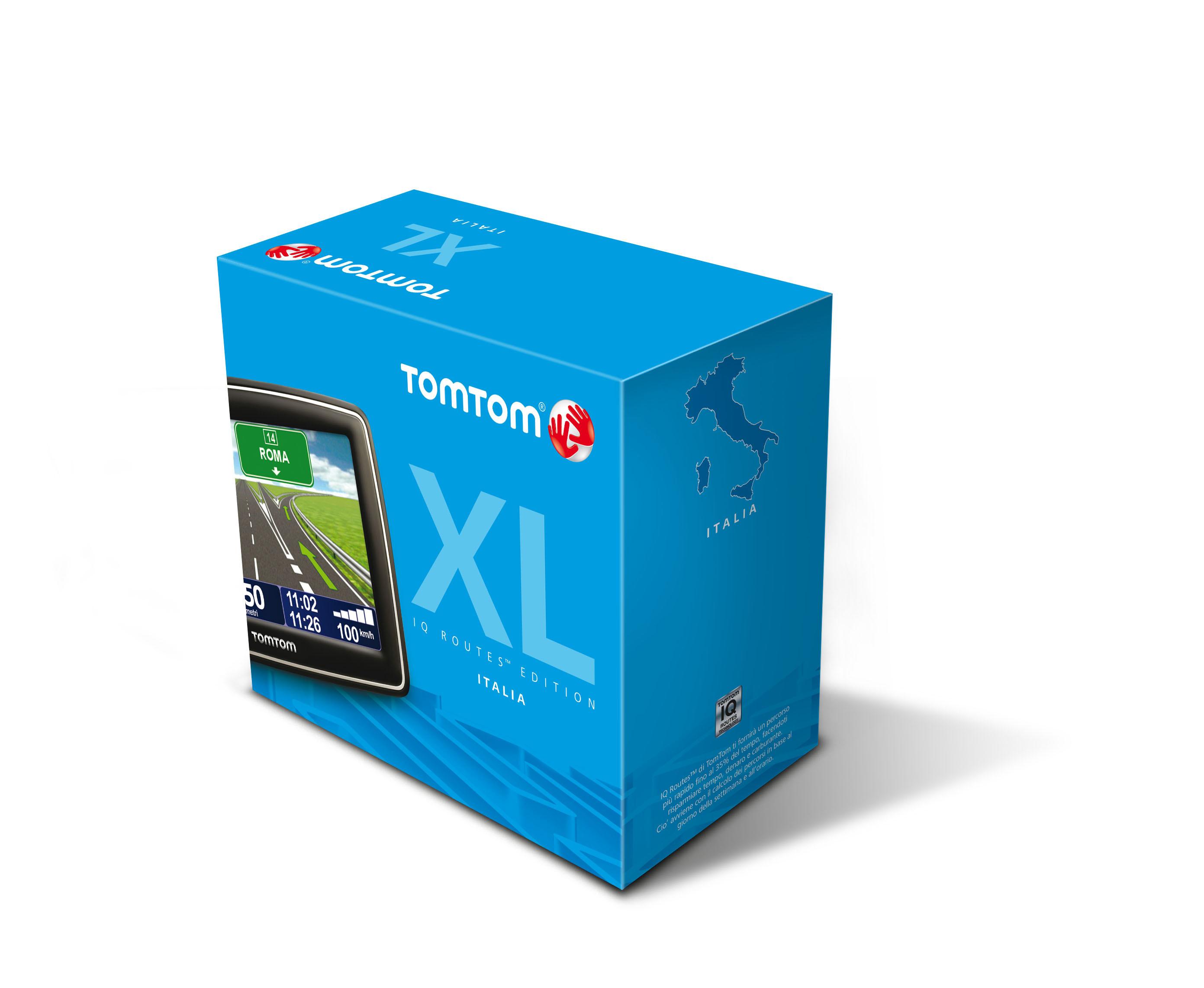 """TomTom XL IQ Routes Edition Region Italy Fisso 4.3"""" Nero navigatore"""