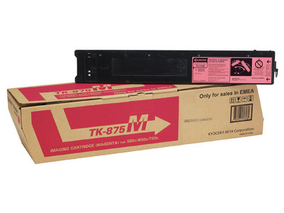 KYOCERA TK-875M 31800pagine magenta cartuccia toner e laser