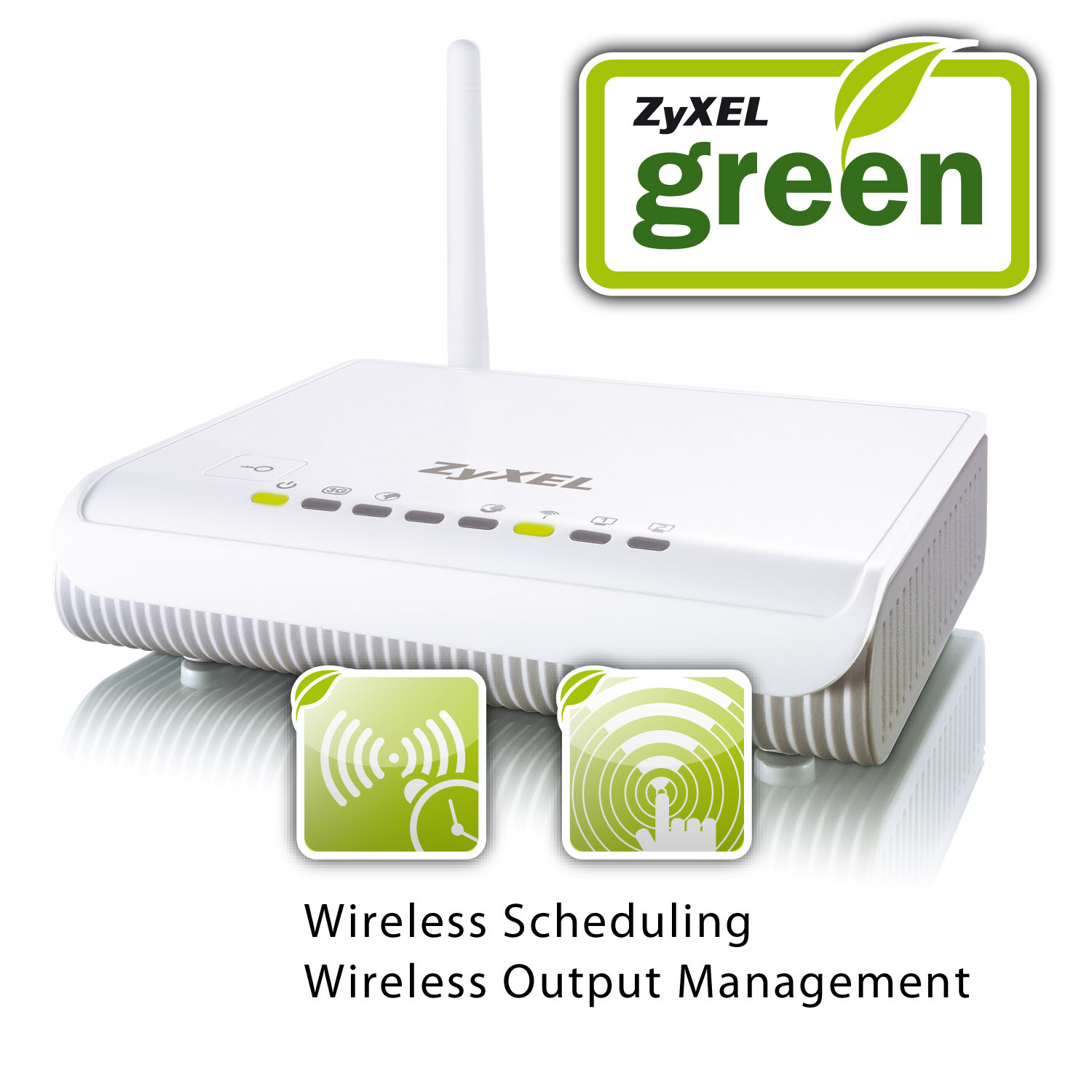 ZyXEL NBG4115 router wireless