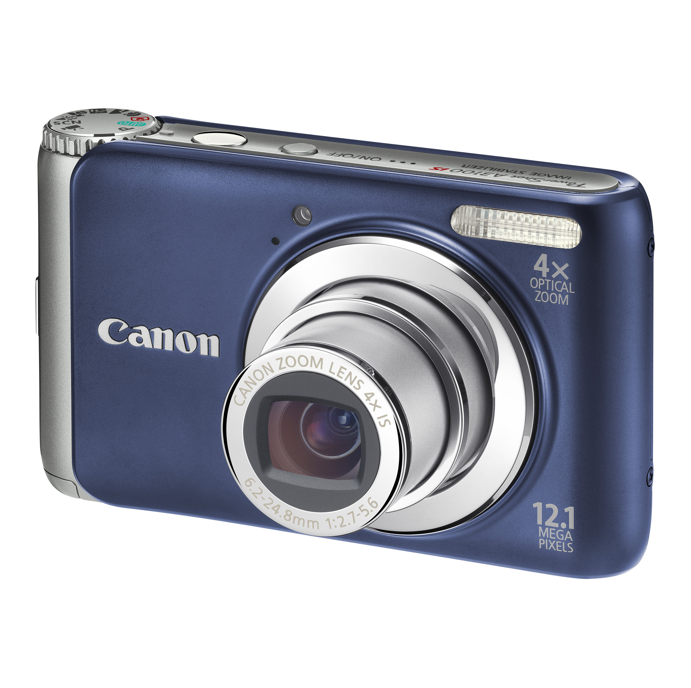 "Canon PowerShot A3100 IS Fotocamera compatta 12.1MP 1/2.3"" CCD 4000 x 3000Pixel Blu"