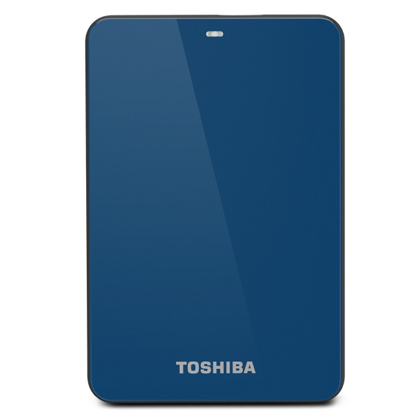 Toshiba 500GB Canvio 3.0 Bd 500GB Blu disco rigido esterno