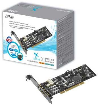 ASUS Xonar D1 Interno 7.1channels PCI