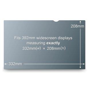 "3M PF15.4W 15.4"" Computer portatile Frameless display privacy filter"