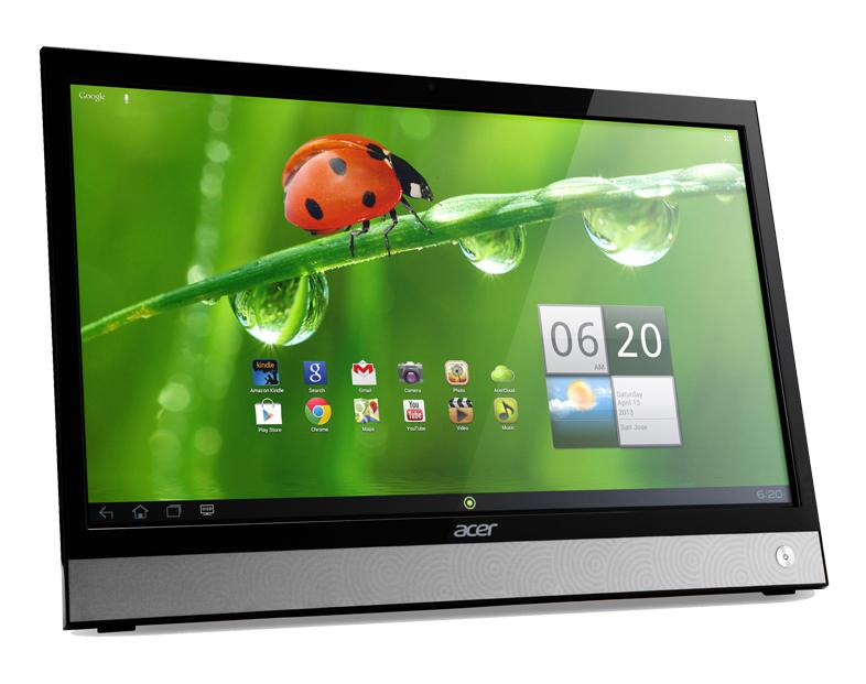 """Acer 3D DA220HQLbmiz 21.5"""" Full HD Nero, Argento monitor piatto per PC"""