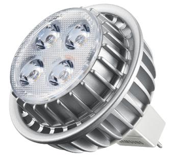 Samsung GU5.3 MR16 7.7W 7W G5.3 A Bianco caldo lampada LED