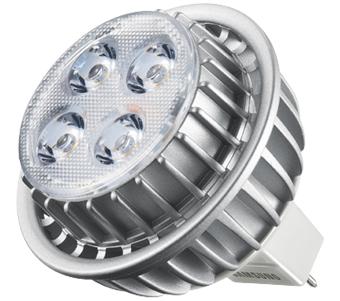 Samsung GU5.3 MR16 7W dim. 7W G5.3 A Bianco caldo lampada LED