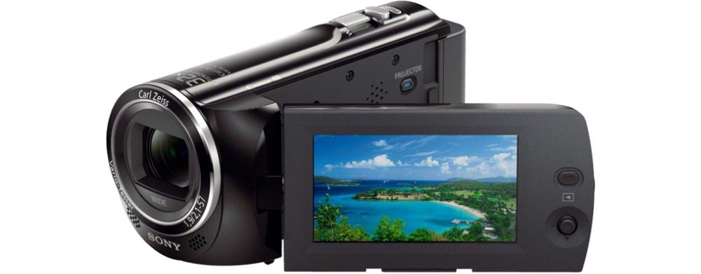 Sony PJ220 Handycam® con proiettore integrato