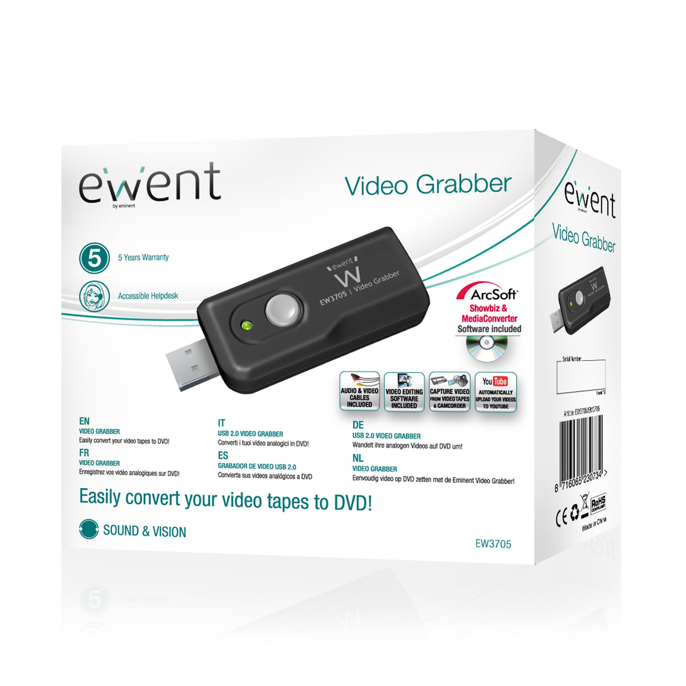 Ewent EW3705 720 x 576Pixel convertitore video