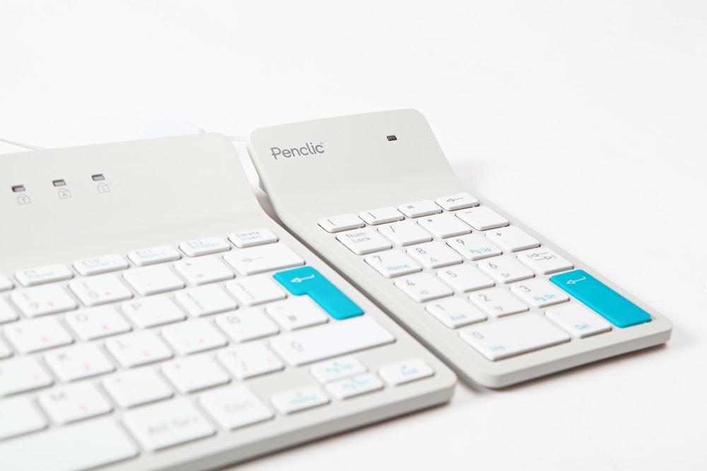Penclic Numpad N2 USB Bianco tastierino numerico