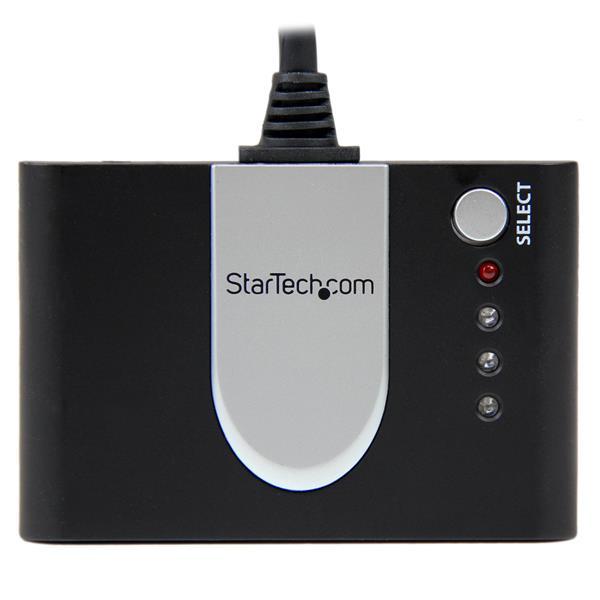 StarTech.com Switch automatico HDMI a 3 porte con telecomando a infrarossi