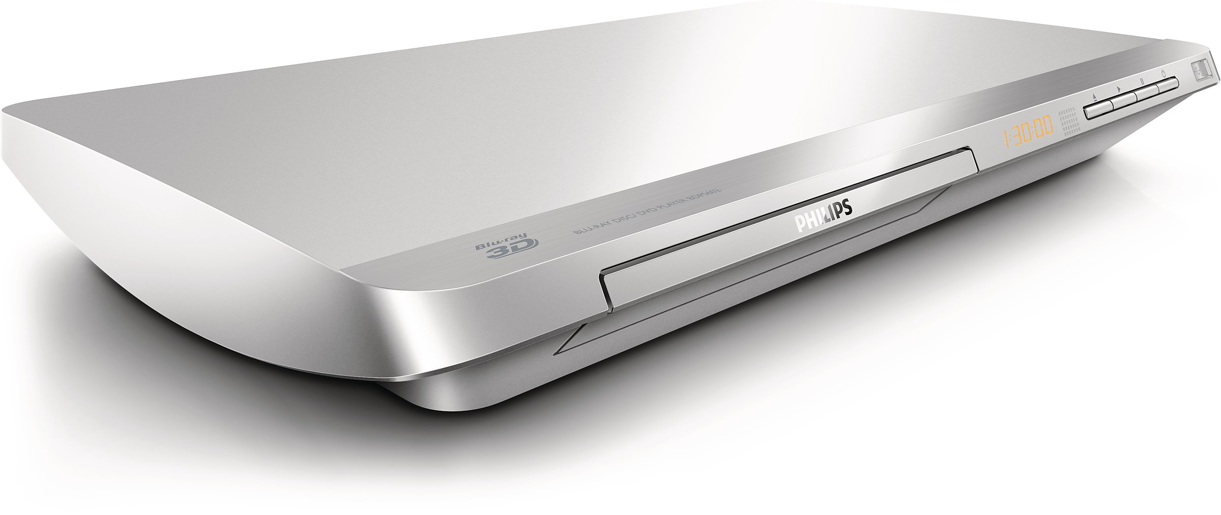 Philips 5000 Series Bdp5602 12 Dvd Blu Ray Player 3d Silver