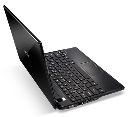 "Acer Aspire 121-C72G32nkk 1GHz C-70 11.6"" 1366 x 768Pixel Nero Computer portatile"