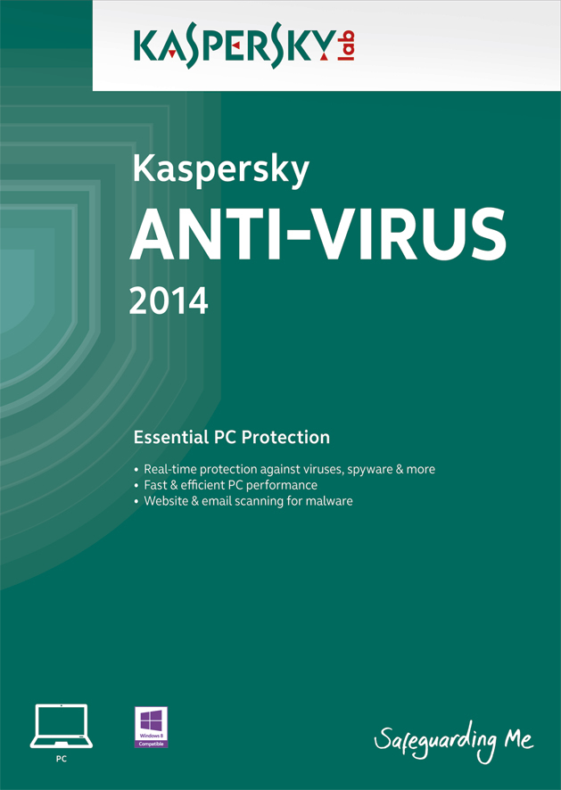 Kaspersky Lab Anti-Virus 2014, RNW, 3U Full license 3utente(i) 1anno/i ESP