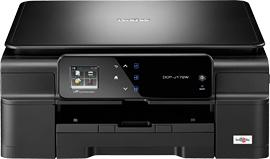 Brother DCP-J172W 1200 x 6000DPI Ad inchiostro A4 27ppm Wi-Fi Nero multifunzione