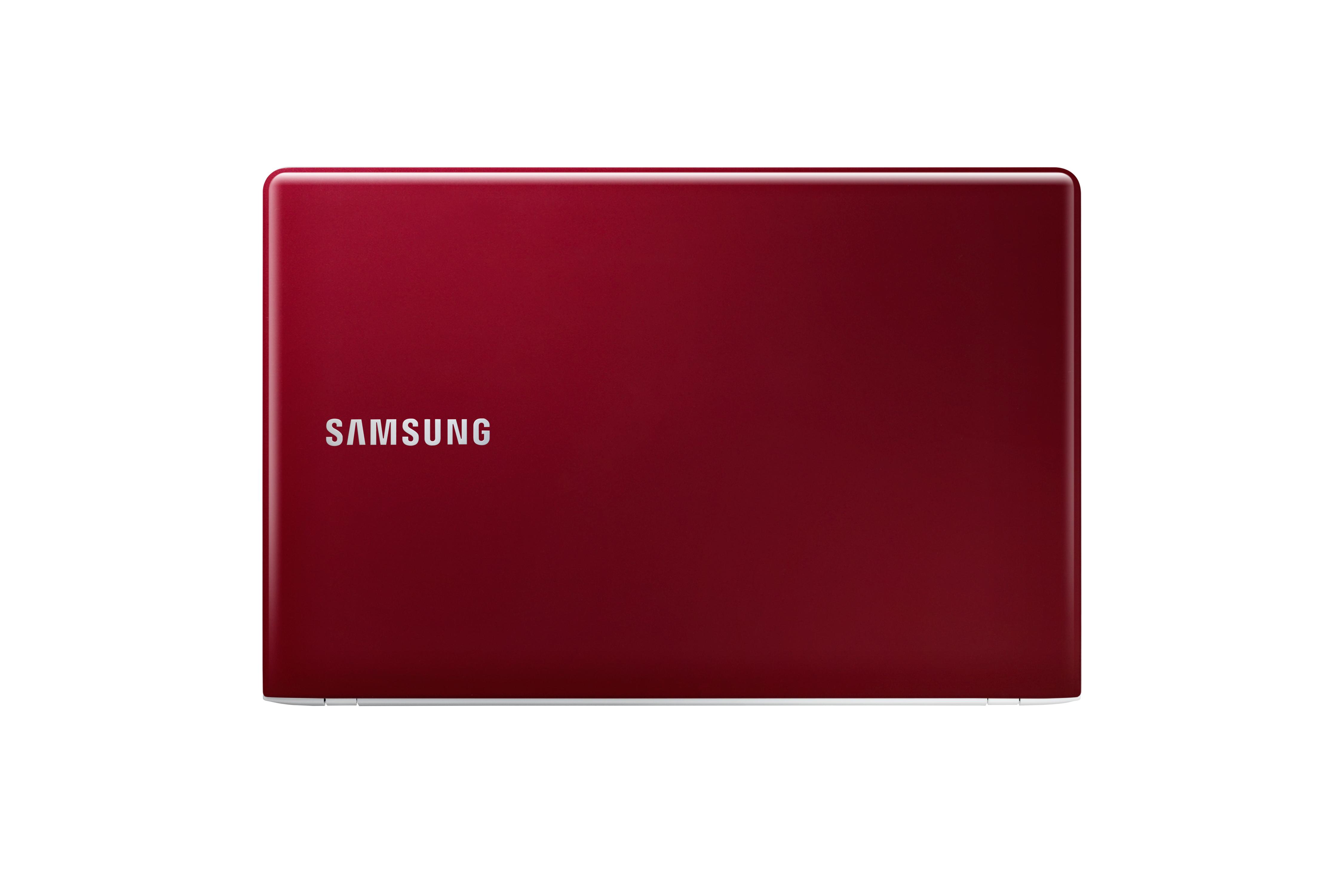 "Samsung 4 NT450R5E 1.8GHz 2117U 15.6"" 1366 x 768Pixel Rosso Computer portatile"