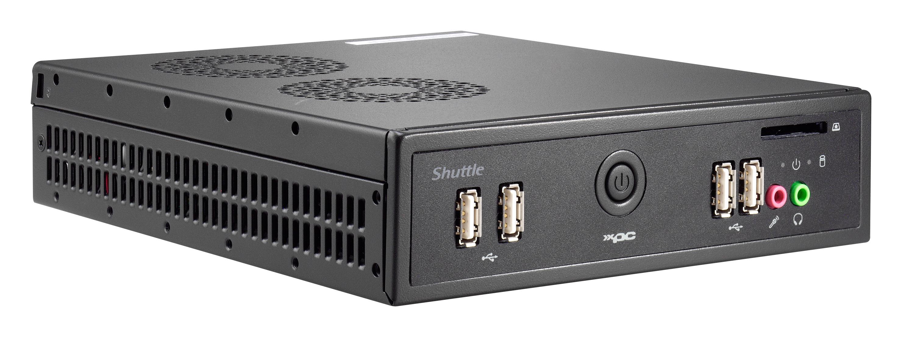 Shuttle D 6100XA 3.3GHz i3-3220 Nero Mini PC PC