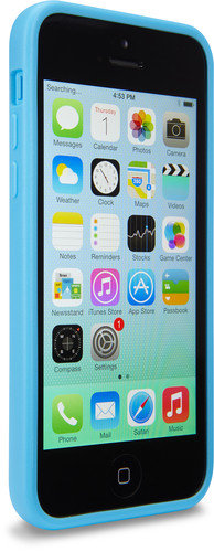 Case Logic CL-NIPH-101 Cover Blu, Trasparente custodia per cellulare