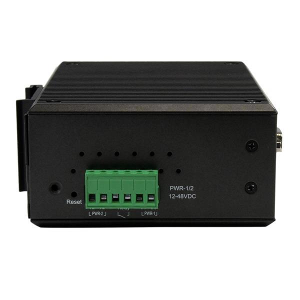 StarTech.com Convertitore industriale seriale RS-232/422/485 a Ethernet IP a 4 porte - Alimentazione PoE - 2 porte 10/100 Mbps