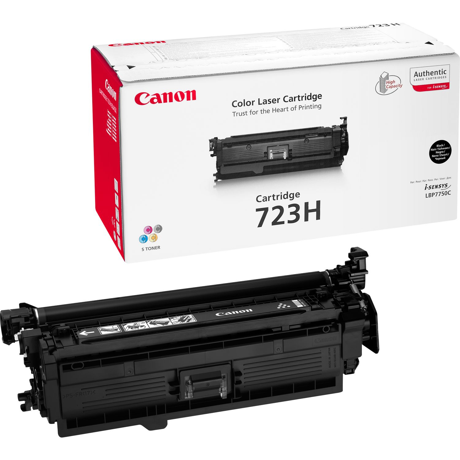 Canon 723H Laser cartridge 10000pagine Nero