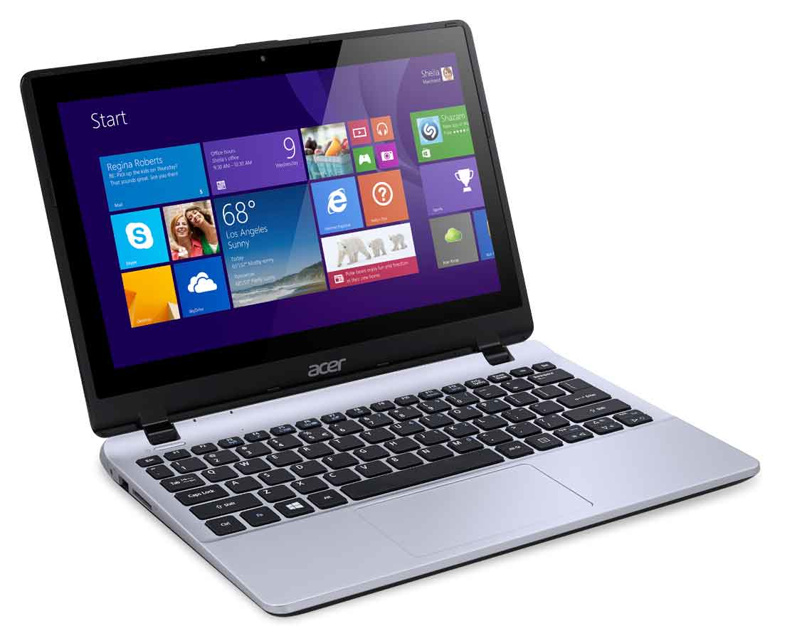 "Acer Aspire 111P-C3HY 1.83GHz N2930 11.6"" 1366 x 768Pixel Touch screen Argento Computer portatile"