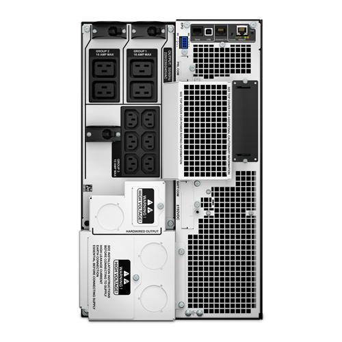 APC Smart-UPS On-Line Doppia conversione (online) 10000VA 10presa(e) AC Montaggio a rack/Torre Nero gruppo di continuità (UPS)