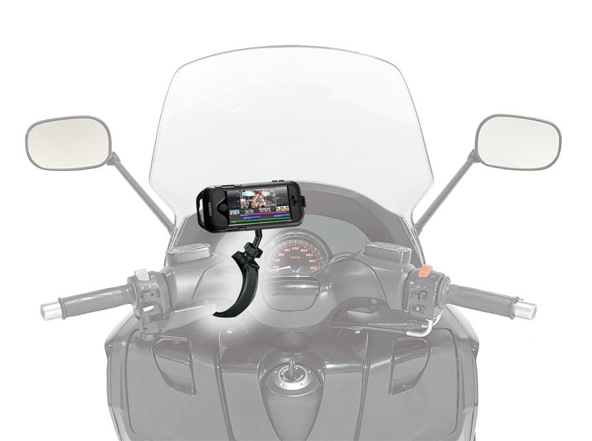 Cellularline SSCIPHONE5 Scooter Passive holder Nero supporto per personal communication