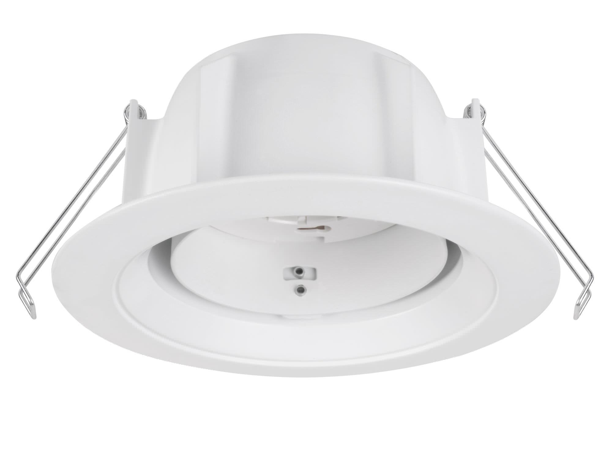 Toshiba LEDEUD00143C Interno Recessed lighting spot GX53 Bianco faretto di illuminazione